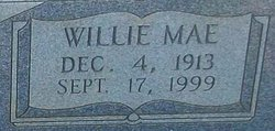 Willie Mae <I>Smith</I> Burrows