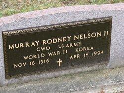 Murray Rodney Nelson, II