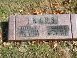 Bertha <I>Burrets</I> Kies