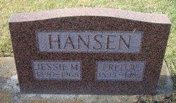 Jessie M <I>King</I> Hansen