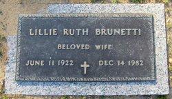 Lillie Ruth <I>Smith</I> Brunetti