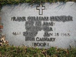 Frank William Hancox
