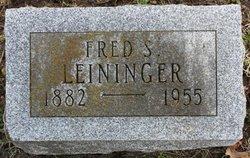 Fred S Leininger