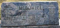 Myrtle M <I>Yoder</I> McDowell