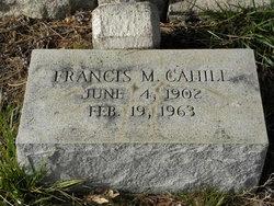 Francis M Cahill