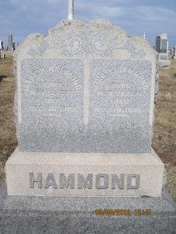 Lydia Ann <I>Keister</I> Hammond