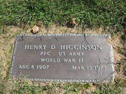 Henry Dixon Higginson