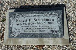Ernest F Struckman