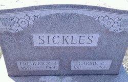 Frederick J Sickles