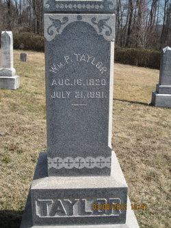William P Taylor