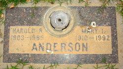Mary I Anderson