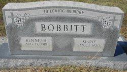 Cora Marie <I>Jones</I> Bobbitt