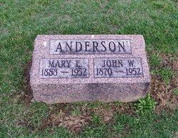 Mary Ellen <I>McDonald</I> Anderson