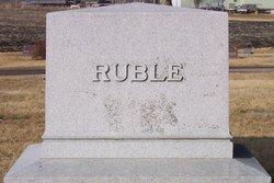 "Rosa B ""Rosey"" <I>Ruble</I> Dale"