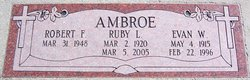 Ruby <I>Howland</I> Ambroe