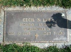 """Cecil N """"Jack"""" Lab"""
