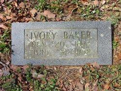 Ivory Beatrice <I>Michaels</I> Baker