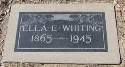 Ella Estella <I>Ingalls</I> Whiting