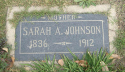"Sarah A. ""Sallie"" <I>Abraham</I> Johnson"