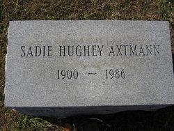 Sadie <I>Cain</I> Hughey Axtmann
