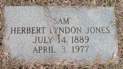 "Herbert Lyndon ""Sam"" Jones"
