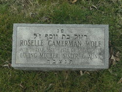 Roselle Gamerman Wolf