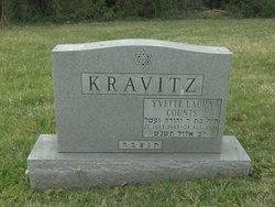 Yvette Laura <I>Counts</I> Kravitz