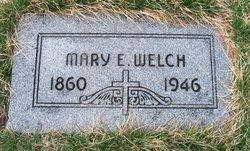 Mary E Welch