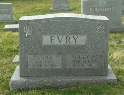 Albert A Evry