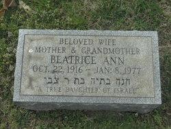 Beatrice Ann <I>Salmansohn</I> Breitbart