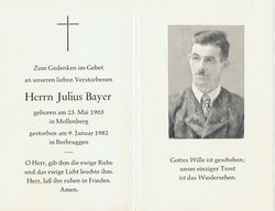 Julius Bayer