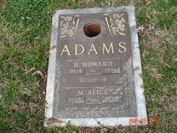 "Herman Howard ""Howard"" Adams"