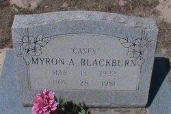 "Myron Allen ""Casey"" Blackburn"