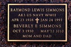 Raymond Lewis Simmons