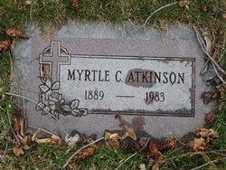 Myrtle Gertrude <I>Christensen</I> Atkinson