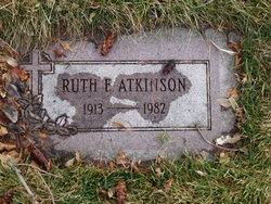 Ruth F Atkinson
