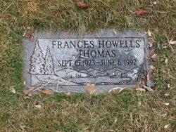 Frances <I>Howells</I> Thomas