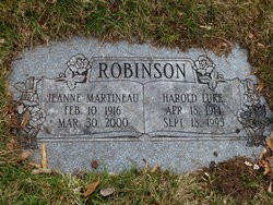 Harold Luke Robinson