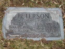 Ruth A Peterson