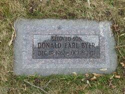 Donald Earl Byer