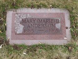 "Mary ""Marie"" <I>Dennis</I> Anderson"