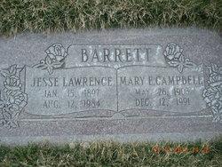 Mary Elizabeth <I>Campbell</I> Barrett