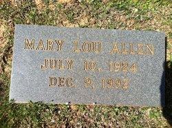 Mary Lou Allen