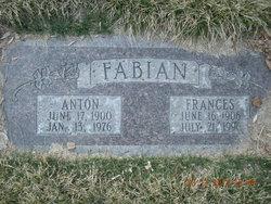 """Anton """"Tony"""" Fabian"""
