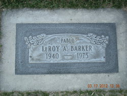 "Leroy A. ""Pablo"" Barker, Jr"