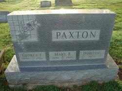 Mary Rita <I>Cochran</I> Paxton