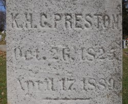 King Hiram C. Preston