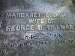 Margaret C. <I>Jones</I> Tillman