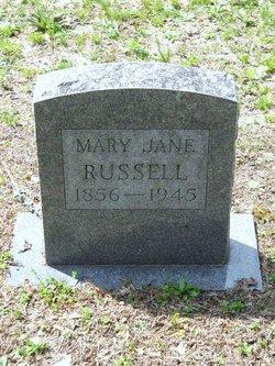 Mary Jane <I>Denton</I> Russell