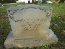 Sophia <I>Tillman</I> Buchanan